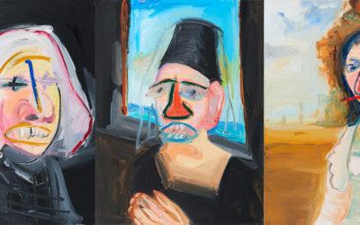 Penny Monogiou – Triptychon in der Auktion