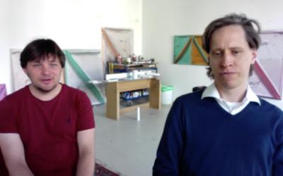 Felix Rehfeld und Martin Spengler im Talk