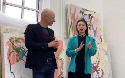 """Xiyao Wang lädt zum """"hineinbewegen"""" in Ihre Bilder"""