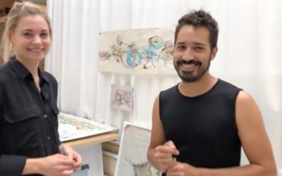 Arnaldo Gonzàlez – Atelierbesuch