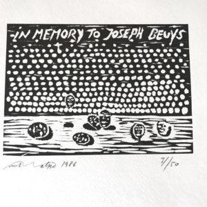 in memory to Joseph Beuys